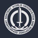 Wandavision Sword Logo Wallpaper 1500X500