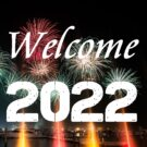Welcome 2022 Greeting Cards Free Download