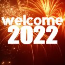 New Year 2022 Welcome Greeting Cards