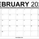 February 2022 Calendar US Free Printable